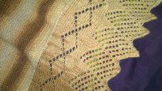 Ravelry: Mewenya's 145-15 Heat Haze - Shawl with lace pattern in Kid-Silk