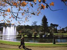Lago Joaquina Rita Bier é opção para caminhadas ao ar livre (Foto: Divulgação/Prefeitura de Gramado)