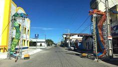 Prefeitura entra no clima e deixa cidade enfeitada para Carnaval