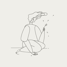 Minimalist Illustrations Of Characters by Victor Rigo