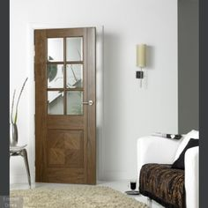 Supermodel Walnut Barcelona Internal Door  Barcelona Walnut Supermodel Glazed Internal Door  The Barcelona capitalises on the increasing consumer trend towards more contemporary interior design and more modern living environments available in Walnut or Oak.  Featuring six clear bevelled glass panels to maximise the flow of light passing between rooms, the striking Barcelona combines sophisticated style with superb engineering to achieve a distinctive refined look.  We aim to dispatch all…