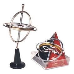 """The classic Chandler Gyroscope, proudly manufactured in the USA! Comes complete with stunt pedestal & instructions. It's the ORIGINAL """"Beyblade"""" !! $5.79"""