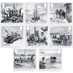 Large image of the Shackleton Stamp Set