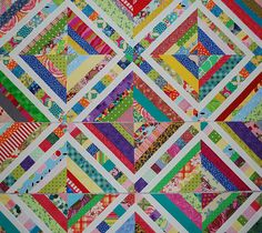 Picnic Scraps | This is my latest scrap quilt in process....… | melodylynn128 | Flickr