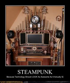 Steampunk love.
