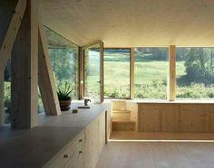 All timber interior