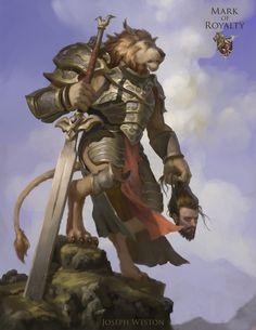 Ahsan - The Champion, Joseph Weston on ArtStation at https://www.artstation.com/artwork/o9JyL