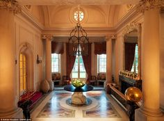 Stunning Architecture Inside The Mansion Which Was Bought For GBP25 Million A Decade Ago