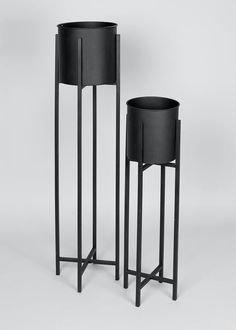Home Decorative Accessories - Indoor & Outdoor Accessories, Page – Matalan Tall Plant Stand Indoor, Black Plant Stand, Tall Plant Stands, Metal Plant Stand, Black Planters, Tall Planters, Indoor Planters, Indoor Outdoor, Contemporary Planters