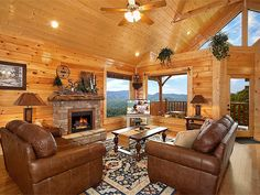 "Sure enough, it's ""A Cozy Den"" - 1-bedroom Pigeon Forge cabin"