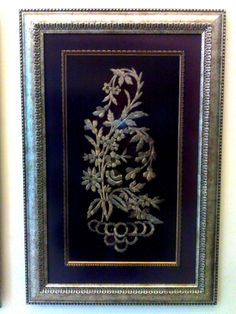 antique embroidery frames