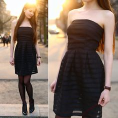 Get this look: http://lb.nu/look/7248392  More looks by Ariadna Majewska: http://lb.nu/ariadna92  Items in this look:  Oasap Black Dress   #elegant #minimal #retro