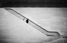Shadows & Lines. From an engagement shoot at The National Gallery of Art in Washington, DC