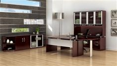 Mayline Napoli Series 11 Piece Mahogany Executive Furniture Package: http://www.officefurnituredeals.com/Napoli-11-Piece-Mahogany-Executive-Furniture-Set-p/ma-nt29-vlc-vbq2-mah.htm
