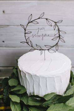 Wedding cake topper by Le bianche margherite ph www. Wedding Cake Toppers, Wedding Cakes, Vintage Cake Toppers, Wedding Cake Fresh Flowers, Diy Cake Topper, Bridal Brooch Bouquet, Cake Trends, Wire Crafts, Kids Decor