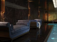 HOME SPA. INTERIOR. POOL. designed by tarnowskidivision