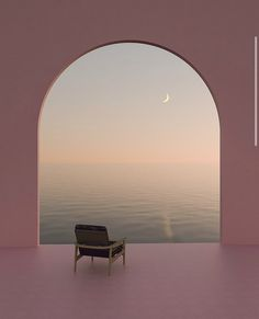 Life Is Beautiful, Beautiful Places, Beautiful Pictures, Aesthetic Design, Travel Aesthetic, Mediterranean Design, Minimalist Architecture, Pink Sunset, House Drawing