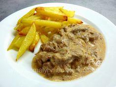 Hovězí Stroganof v pomalém hrnci Multicooker, Mashed Potatoes, Crockpot, Beef, Ethnic Recipes, Food, Whipped Potatoes, Meat, Slow Cooker