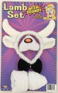 Lamb Headband and Nose Ears Bow Tie Set with Sound | eBay