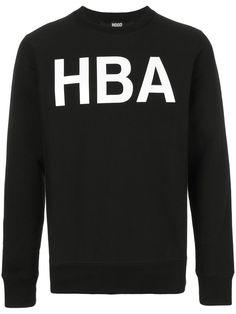 Hood By Air Rehab crew neck sweatshirt - Black Hood By Air, Black Cotton, Size Clothing, Crew Neck Sweatshirt, Shop Now, Women Wear, Sweatshirts, Fashion Design, Shopping
