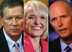 Conservative Republican governors Jan Brewer of Arizona, Rick Scott of Florida and John Kasich of Ohio are battling with their own party members over their efforts to accept a huge influx of federal dollars and provide health coverage to poor people. So far, the governors are losing.
