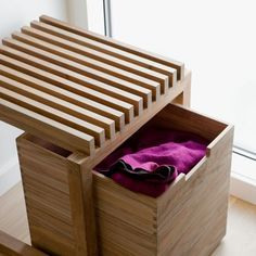 Keep clutter under control with the Skagerak's large teak Cutter box. This stylish storage unit is ideal for hiding away gloves, scarves, caps, and bicycle lamps. Wood Furniture, Modern Furniture, Furniture Design, Simple Furniture, Furniture Movers, Cheap Furniture, Discount Furniture, Woodworking Plans, Woodworking Projects