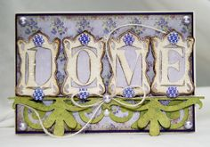 LOVE by chelemom - Cards and Paper Crafts at Splitcoaststampers    CRICUT SOPHISTICATED