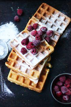 Gofry na maślance / Buttermilk waffles