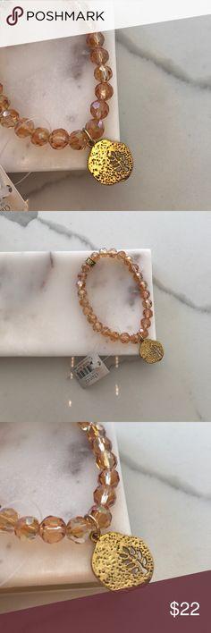 Chavez fall charm bracelet Swarovski beads NWT chavez Jewelry Bracelets
