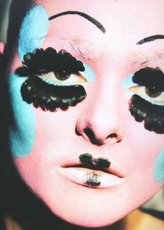 Galliano makeup - Ruth Hogben reference image