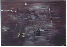 """So This Is Love"" 1992, David Lynch #painting #art #dark"