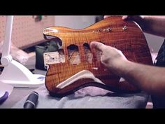 Kauer Guitars- a look behind the scenes - YouTube