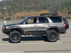 Toyota 3rd Gen. 4Runner, Sliders, Roof Basket, Front and Rear Bumpers