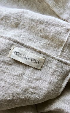 Sewing Labels, Fabric Labels, Tag Design, Label Design, Wide Curtains, Cast Iron Tub, Clothing Packaging, Clothing Labels, Buttonholes