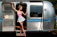 Caravan attire, sweepy skirt, but add a fluff petticoat!