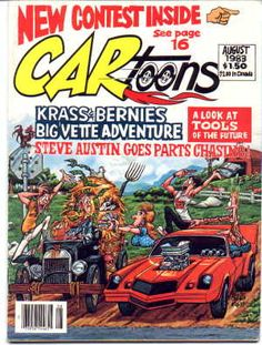 What you see is what you get: Shawn Kerri chronicling early LA hardcore Cartoon Car Drawing, Cartoon Art, Cars Cartoon, Ed Roth Art, Cartoons Magazine, Cool Car Drawings, Old School Muscle Cars, Car Posters, Movie Posters