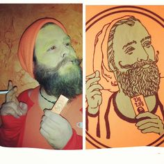 Zig Zag rolling papers guy | 30 Halloween Costumes That Put All Of Us To Shame