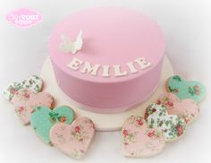 Butterfly cake, pink cake, first birthday cake for girls, pretty cake