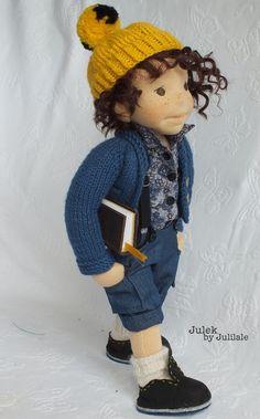 Waldorf inspired doll, boy, Julek by julilale