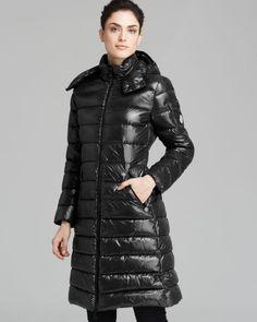 Moncler Moka Mid Length Down Coat