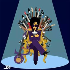Prince - Game of Guitars!