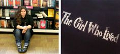 The wonderful Rainbow Rowell. The girl who lived.