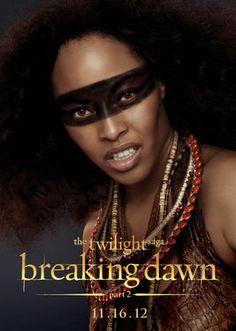 "Senna (Tracey N. Heggins) character art for ""The Twilight Saga: Breaking Dawn - Part 2."""