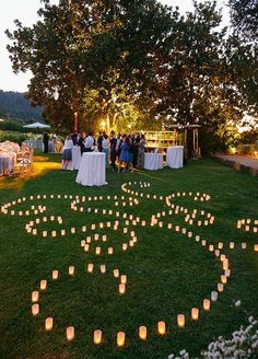 greenery wedding ideas with candles for 2017 spring