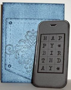 Birthday selfie funny birthday card cell phone card iphone fs80 birthday pocket cell phone card cute idea bookmarktalkfo Image collections