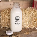 Milk bottles are a great way to give you dairy products a vintage feel.  www.stanpacnet.com  #Milk #MilkBottle #Dairy #Glass #Packaging