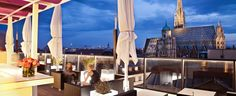 Welcome to Café Bar Bloom – Official Website! Enjoy a drink or a delicious meal in our centrally located rooftop bar & restaurant in Vienna! Boutique Hotels, Vienna Cafe, Beste Hotels, Café Bar, House Restaurant, Rooftop Terrace, Nice View, Budapest, The Good Place