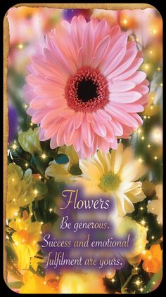 Fortune Telling Reading Cards ~Flower Fortune Reading, Spirit Signs, Fortune Telling Cards, Signs From The Universe, Angel Guide, Healing Scriptures, Oracle Tarot, Divine Light, Angel Cards