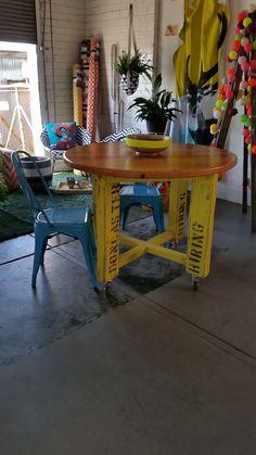 Decor, Table, Vintage Industrial Furniture, Furniture, Home Decor, Vintage, Dining, Dining Table
