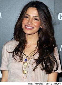 Sarah Shahi long hair with layers